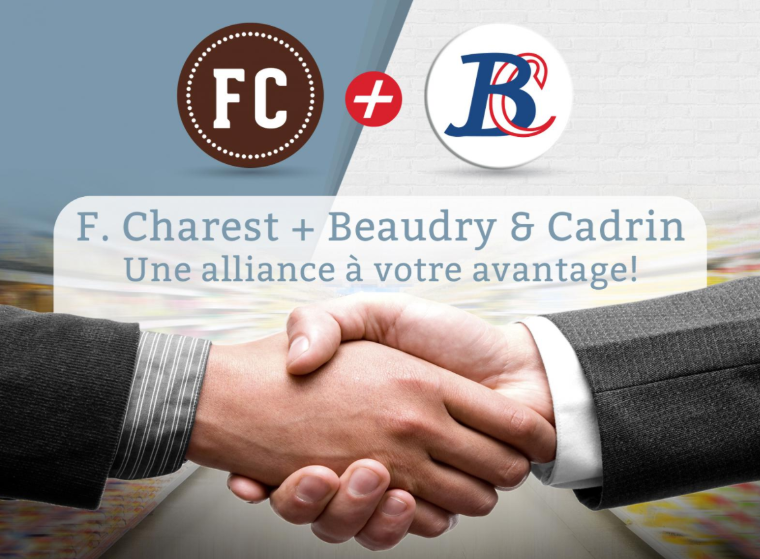 F. CHAREST + BEAUDRY & CADRIN: UNE ALLIANCE CONCLUE