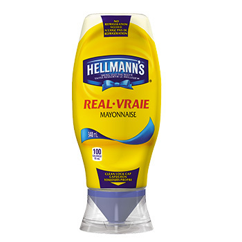 Mayonnaise bouteille compressible 8x340 ml (812552)